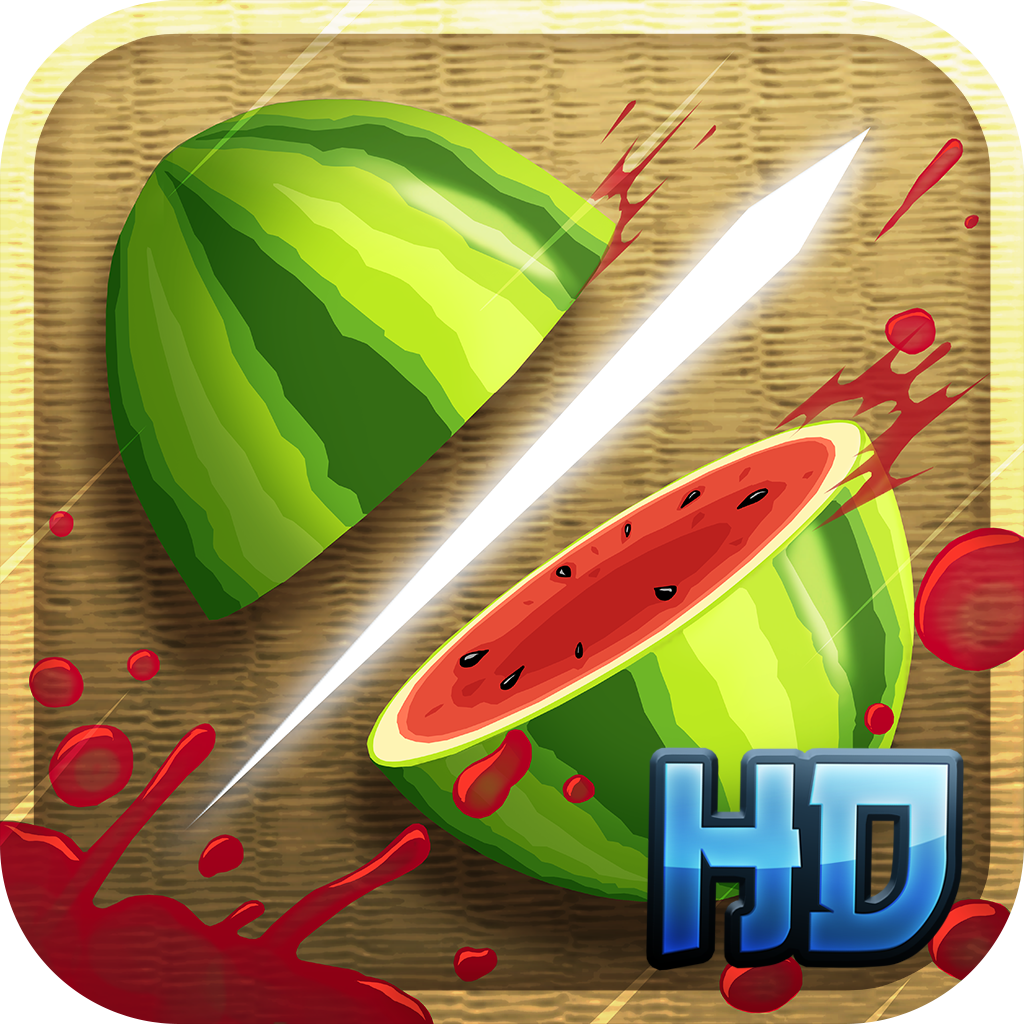 Fruit Ninja HD iOS
